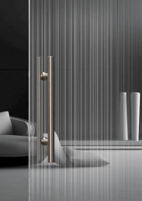Porta design trasparente Vitralspecchi