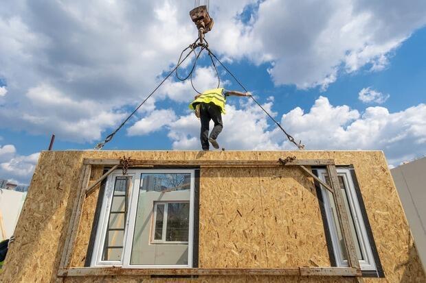 Social housing: uso del legno per la prefabbricazione