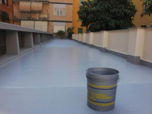 Impermeabilizzazione con resina, by Resine Industriali