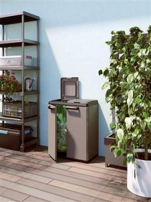 Split Cabinet Recycling Basic per la Raccolta Differenziata su Amazon
