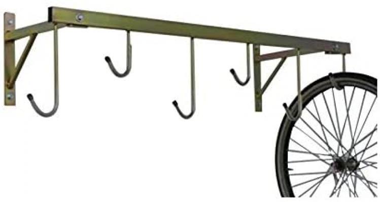 Portabiciclette sospeso per garage su Amazon