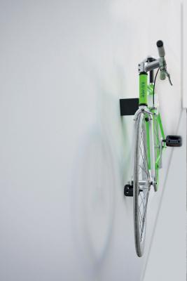 Appendibici a parete di design per interni QUBE XS  di Cool Bike Rack