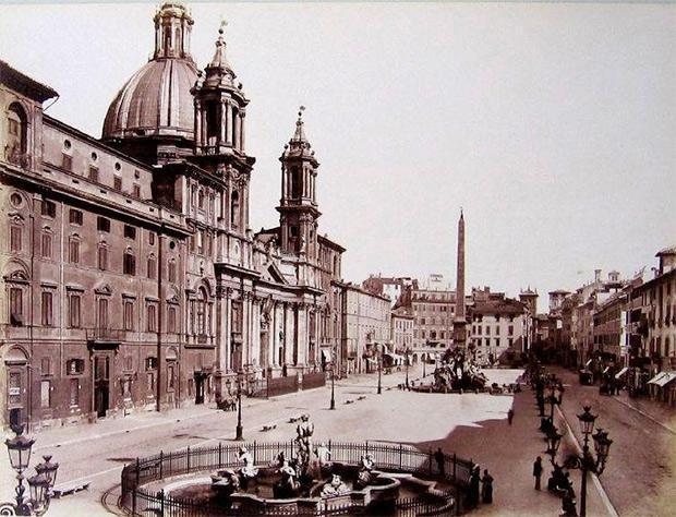 Piazza Navona, foto storiche