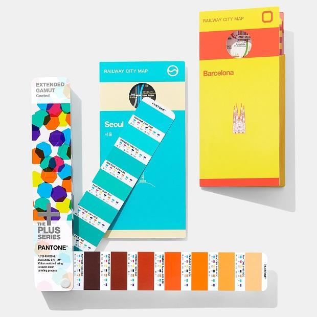 Pantone®, Extended Gamut Guide è una delle mazzette colori per la stampa