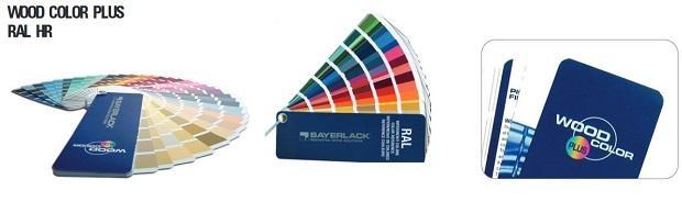 Wood Color Plus è la mazzetta colori per legno di Sayerlack