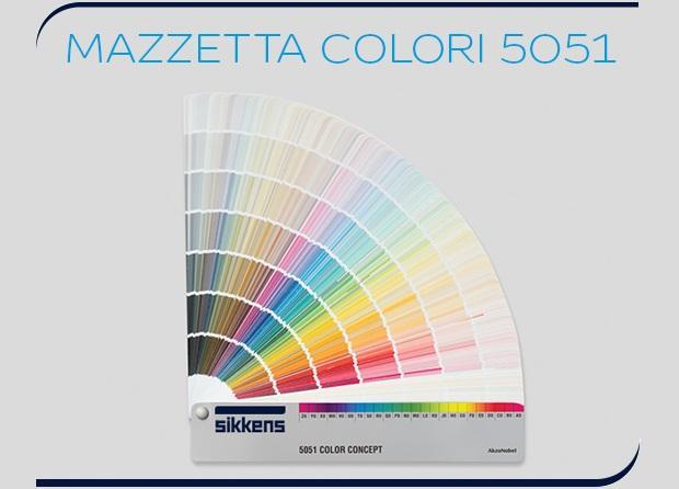 Mazzetta colori 5051 Sikkens