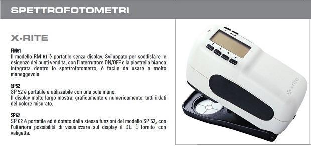 Spettrofotometro per il sistema tintometrico Sayerlack