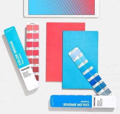 Color Bridge è una delle mazzette colore di Pantone Matching System