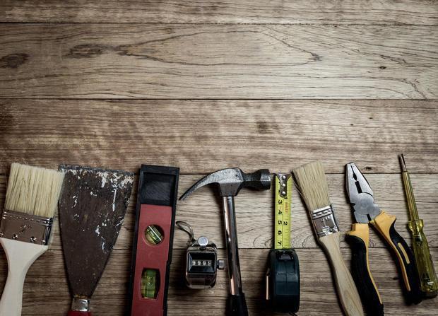 Utensili da lavoro per legno