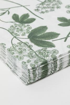 Tovaglioli di carte per decoupage, by H&M