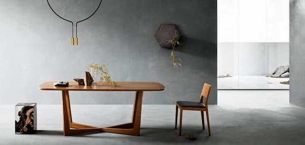 Tavolo da pranzo Brera rettangolare di Zanette