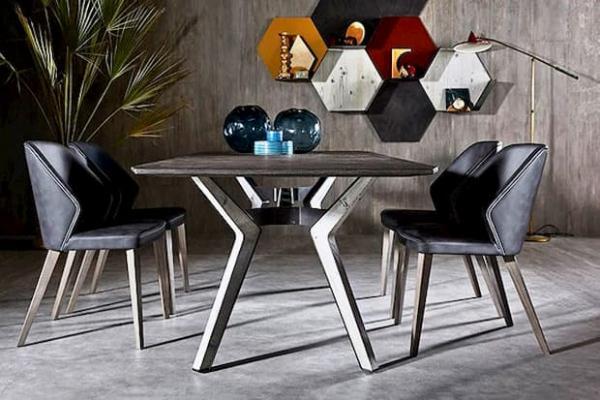 Zona pranzo tavolo Ruben e sedie Adele - Zanette