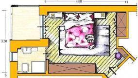 Come disporre la camera da letto: idee e soluzioni d'arredo su misura