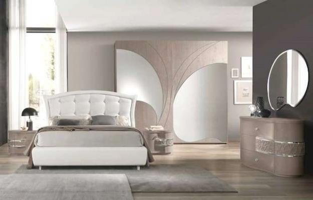 Camera da letto Nuvola Frassino Grey Euro Design
