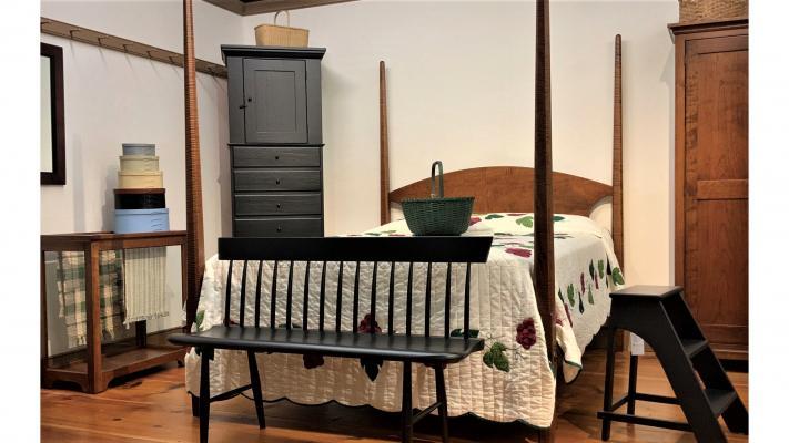 Stanza da letto shaker di Shakershoppe.com