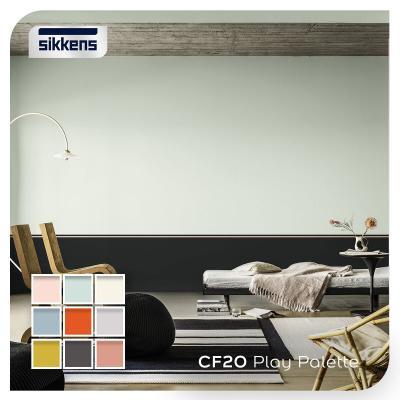 Pittura Sikkens per sanificare gli ambienti domestici