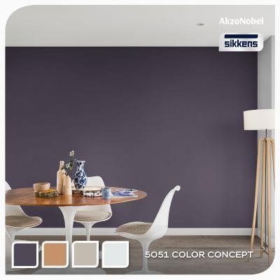Pittura decorativa sanificante di Sikkens