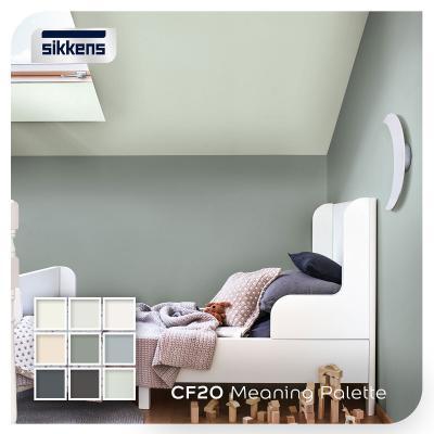 Scegliere il colore adatto per la pittura sanificante in casa