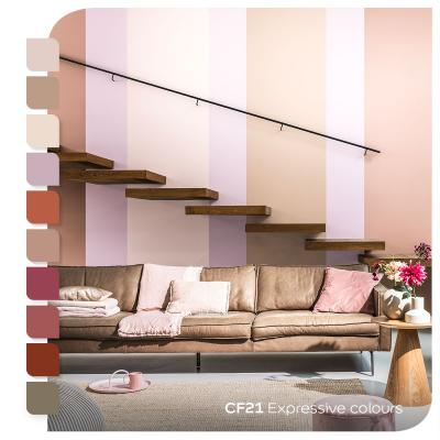 Pittura antimuffa per sanificare palette di colori