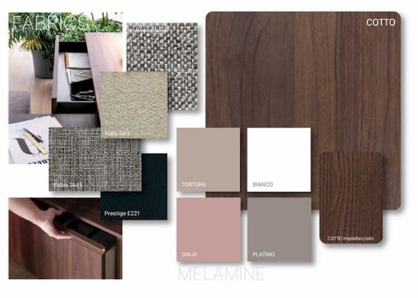 Moodboard stile femminile by Clever