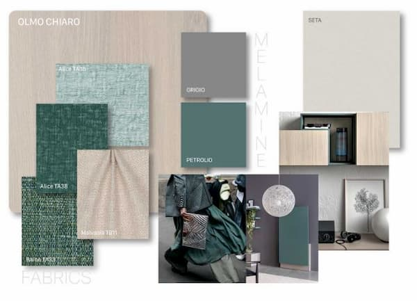 Moodboard stile naturale by Clever