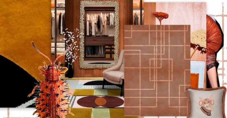 Moodboard color terracotta by Rug'Society