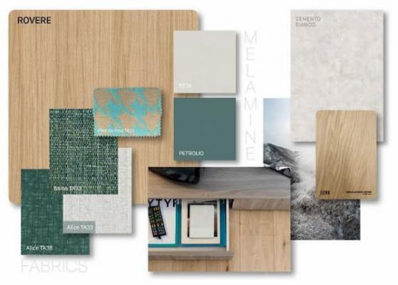 Moodboard stile nordico by Clever