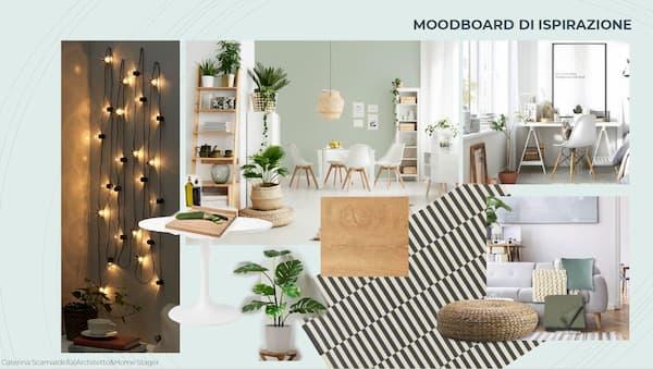Moodboard di ispirazione - By Architetto Caterina Scamardella