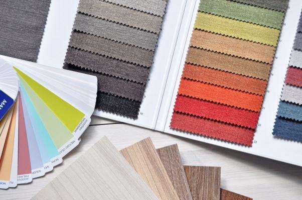 Uno dei punti di partenza dell'Home Stylist è la palette colori