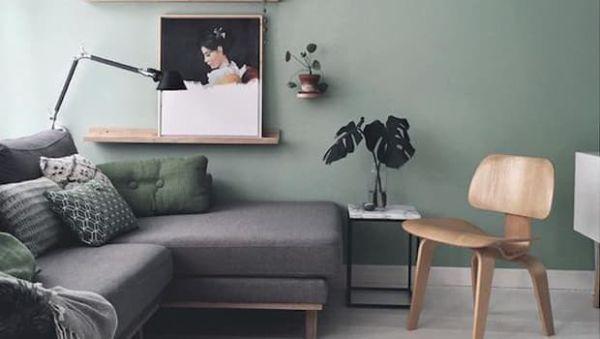L'home stylist sceglie colori e tessuti - Photocredits: Pinterest