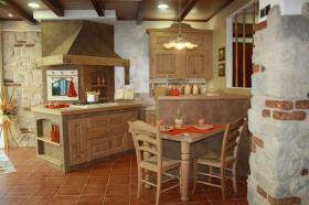 Cucina in muratura SassoLegno