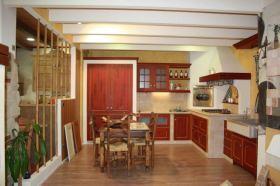 Composizione cucina in muratura - SassoLegno