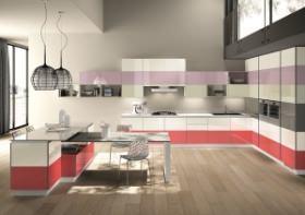 Composizione cucina Tetrix (firmata da Michael Young) - Scavolini