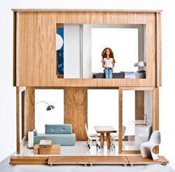 Miniio_casa delle bambole moderna