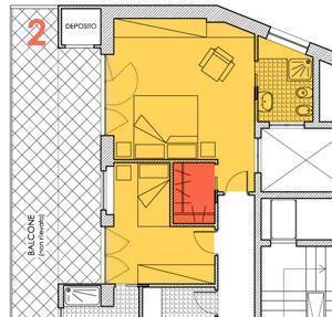 Cabina armadio nella zona notte - Cabina armadio dimensioni minime ...