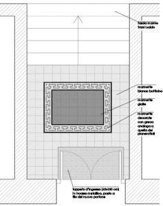 pianta progetto pavimentazione