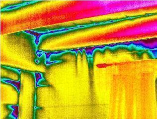 Gli edifici a tenuta d'aria:l'esame termografico delle perdite da impianti mal sigillati