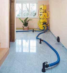 Il risanamento dei locali danneggiati dall'acqua: un intervento di risanamento della Ditta Krueger