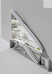 Keret House_interni