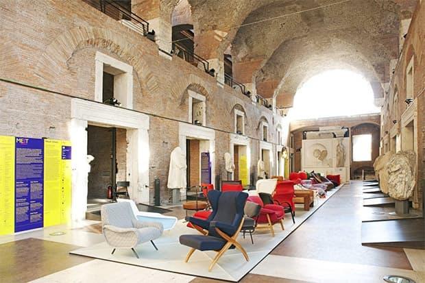 Meet Design ai mercati di Traiano a Roma: Stefano Boeri Architetti