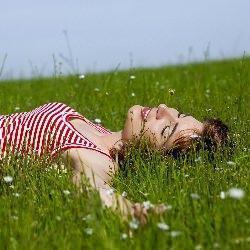 prato, verde, natura, pace e benessere