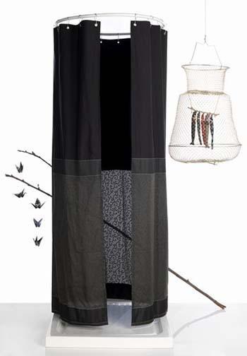 Tenda doccia aste per tenda doccia telaio universale with - Tende per doccia rigide ...