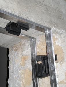 Controtelai innovativi - Montaggio controtelaio porta blindata ...