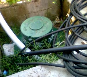 La sicurezza domestica: un serbatoio per gas gpl posizionato non correttamente