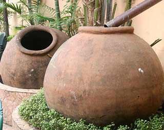 Balconi e terrazze verdi senza problemi: grossi contenitori per la raccolta di acqua piovana