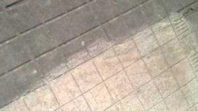 Recupero di una vecchia pavimentazione esterna