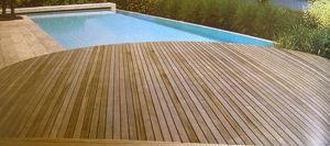 Composite woody, piscina