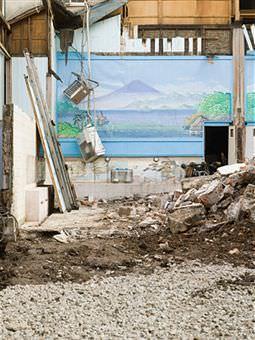 La stabilita'  delle murature isolate: parti demolite isolate