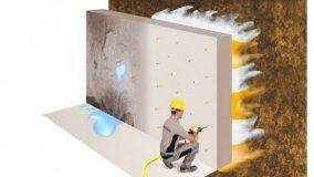 Barriera alle infiltrazioni d'acqua nel calcestruzzo