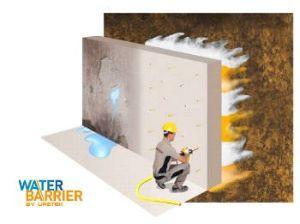 Barriera alle infiltrazioni d'acqua nel calcestruzzo: metodo Water Barrier